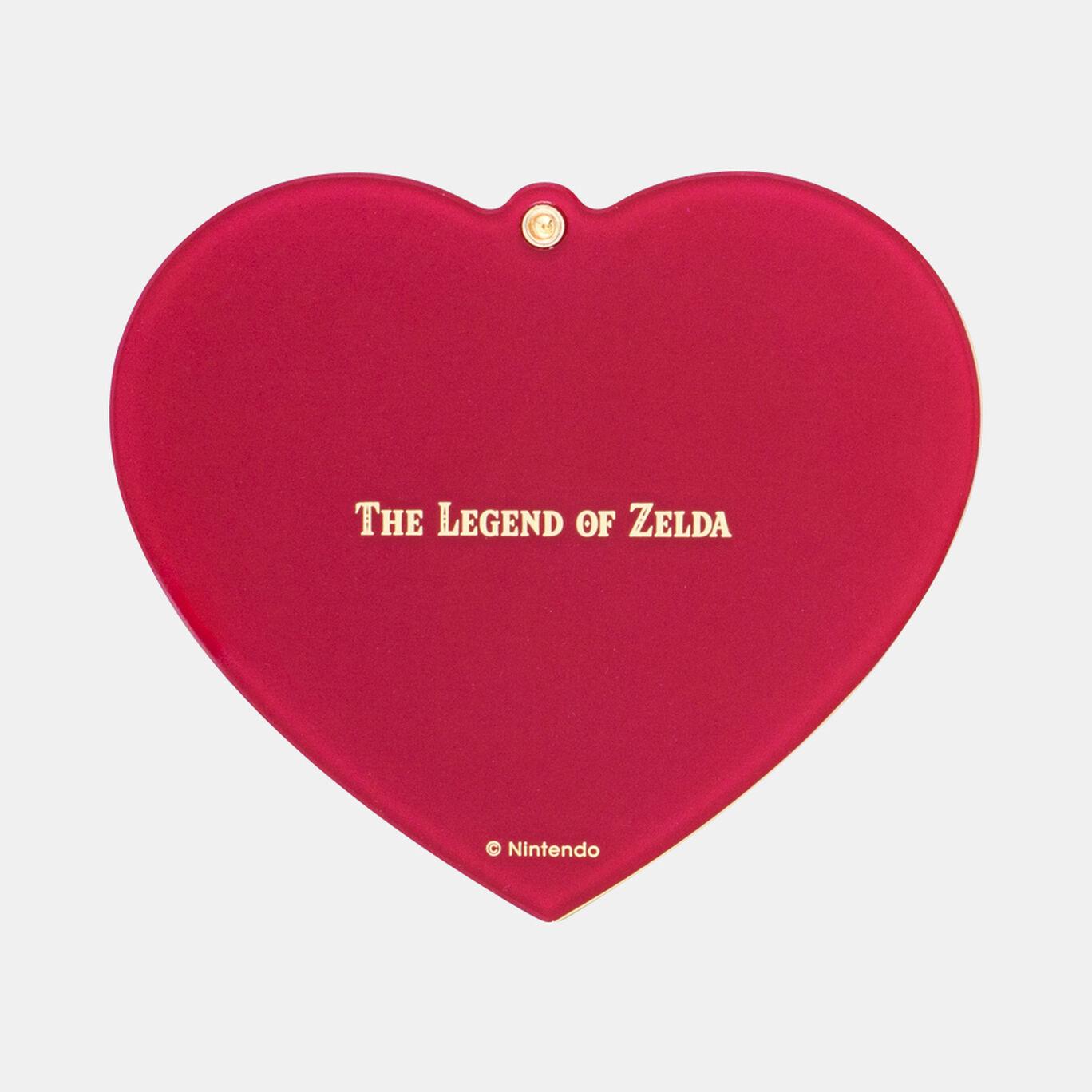 【新商品】スライドミラー ハートの器 ゼルダの伝説【Nintendo TOKYO取り扱い商品】