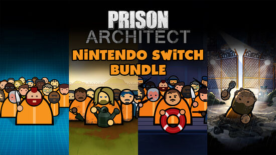 Prison Architect: Nintendo Switch™ Edition - Bundle