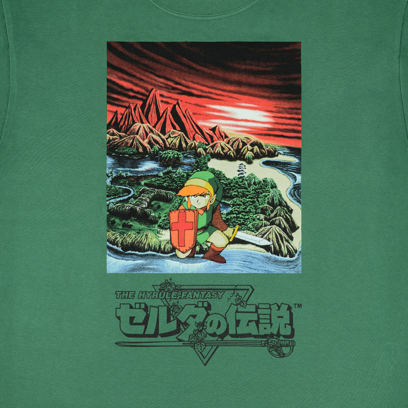 Tシャツ ゼルダの伝説 S【Nintendo TOKYO取り扱い商品】
