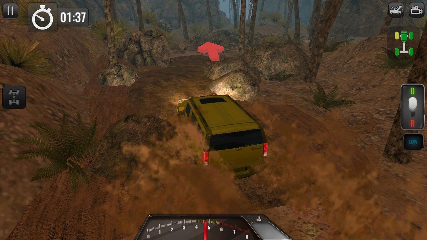オフロード運転シミュレータ4x4:トラックとSUVトロフィー