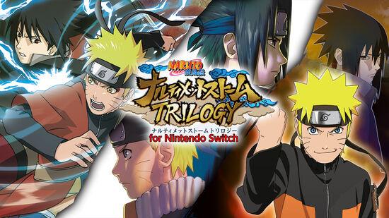NARUTO-ナルト- 疾風伝 ナルティメットストームトリロジー for Nintendo Switch
