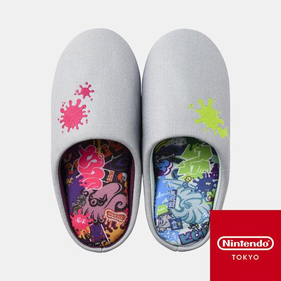 【新商品】ルームシューズ SQUID or OCTO Splatoon【Nintendo TOKYO取り扱い商品】