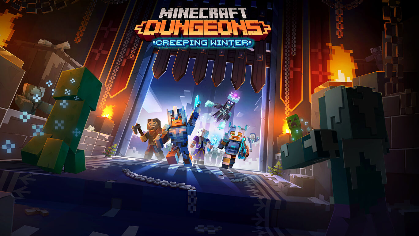 Minecraft Dungeons: Creeping Winter (忍び寄る冬)