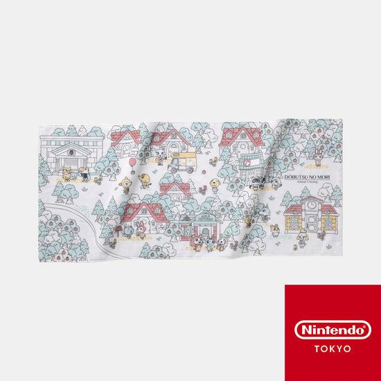 フェイスタオル どうぶつの森【Nintendo TOKYO取り扱い商品】