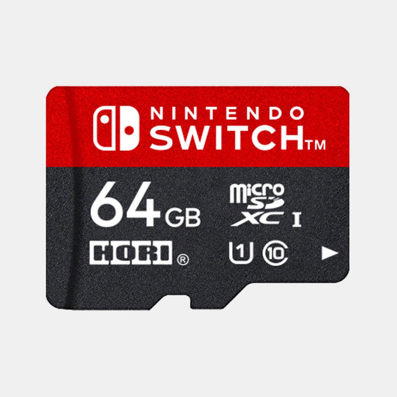 HORI microSDカード for Nintendo Switch 64GB