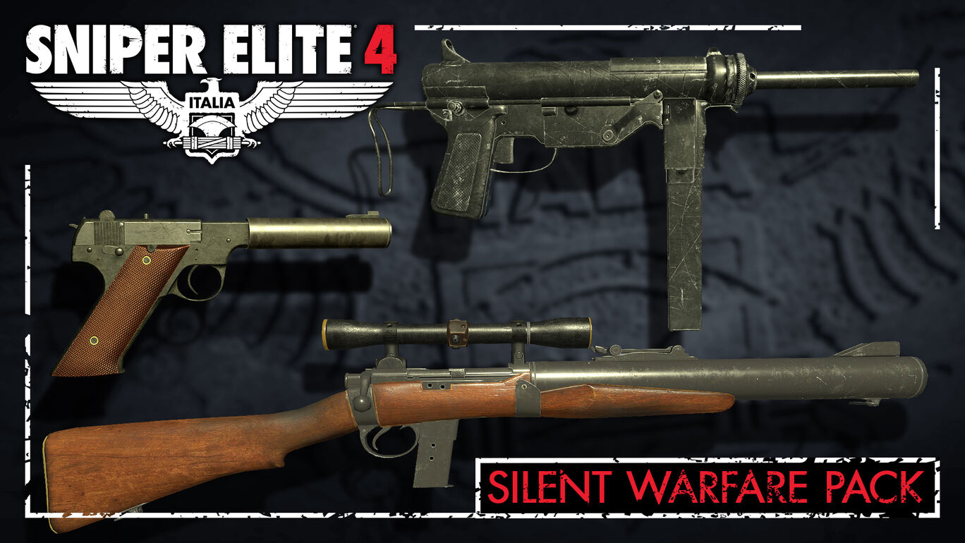 Sniper Elite 4 - Silent Warfare Weapons Pack