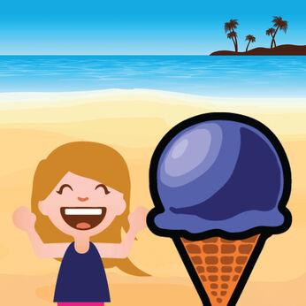 私の小さなアイスクリームブース