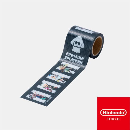 養生テープ CROSSING SPLATOON A【Nintendo TOKYO取り扱い商品】