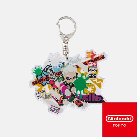 ビッグアクリルキーホルダー CROSSING SPLATOON B【Nintendo TOKYO取り扱い商品】