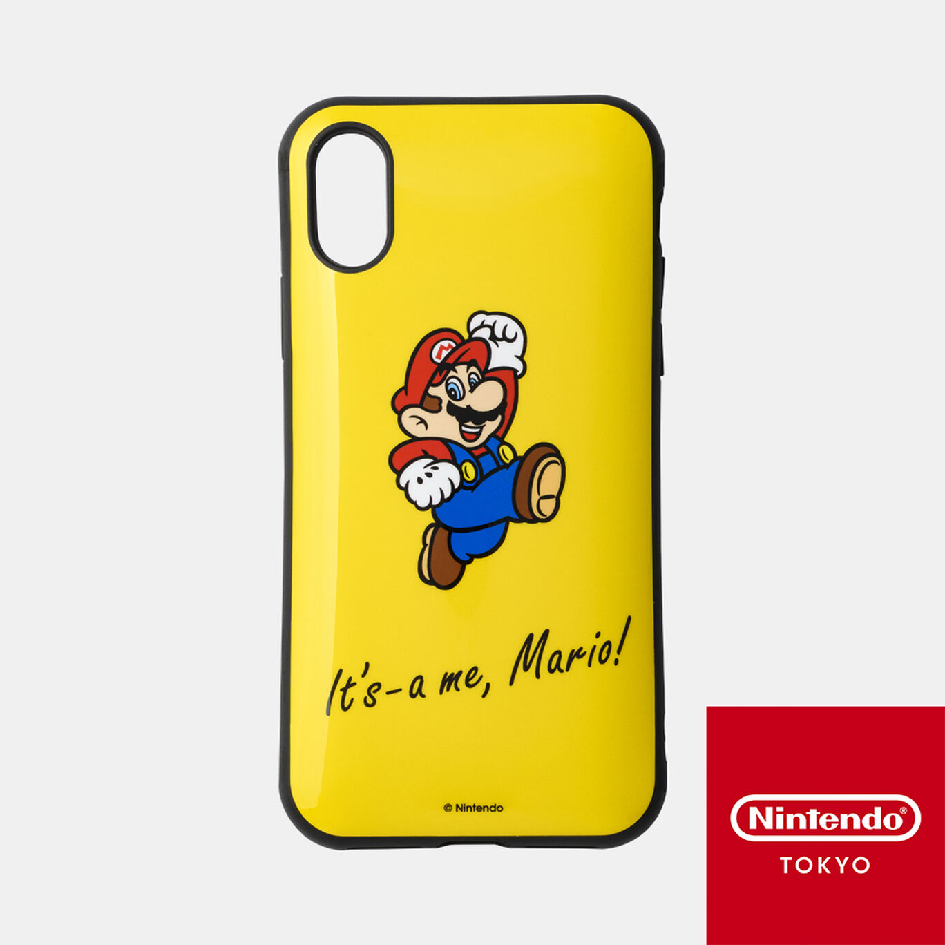 スマホカバーiPhone XS/X 対応 スーパーマリオ B【Nintendo TOKYO取り扱い商品】