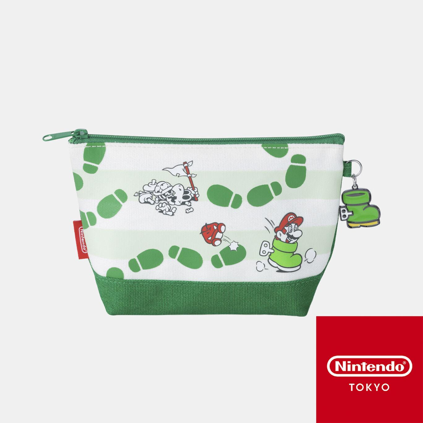 ポーチ スーパーマリオ パワーアップ B【Nintendo TOKYO取り扱い商品】