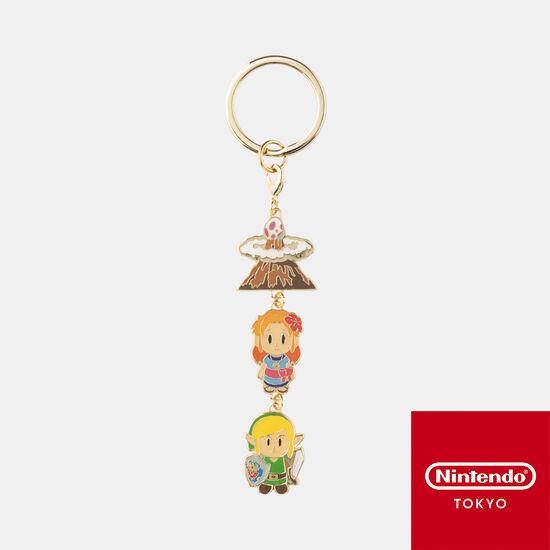 キーホルダー ゼルダの伝説 夢をみる島【Nintendo TOKYO取り扱い商品】