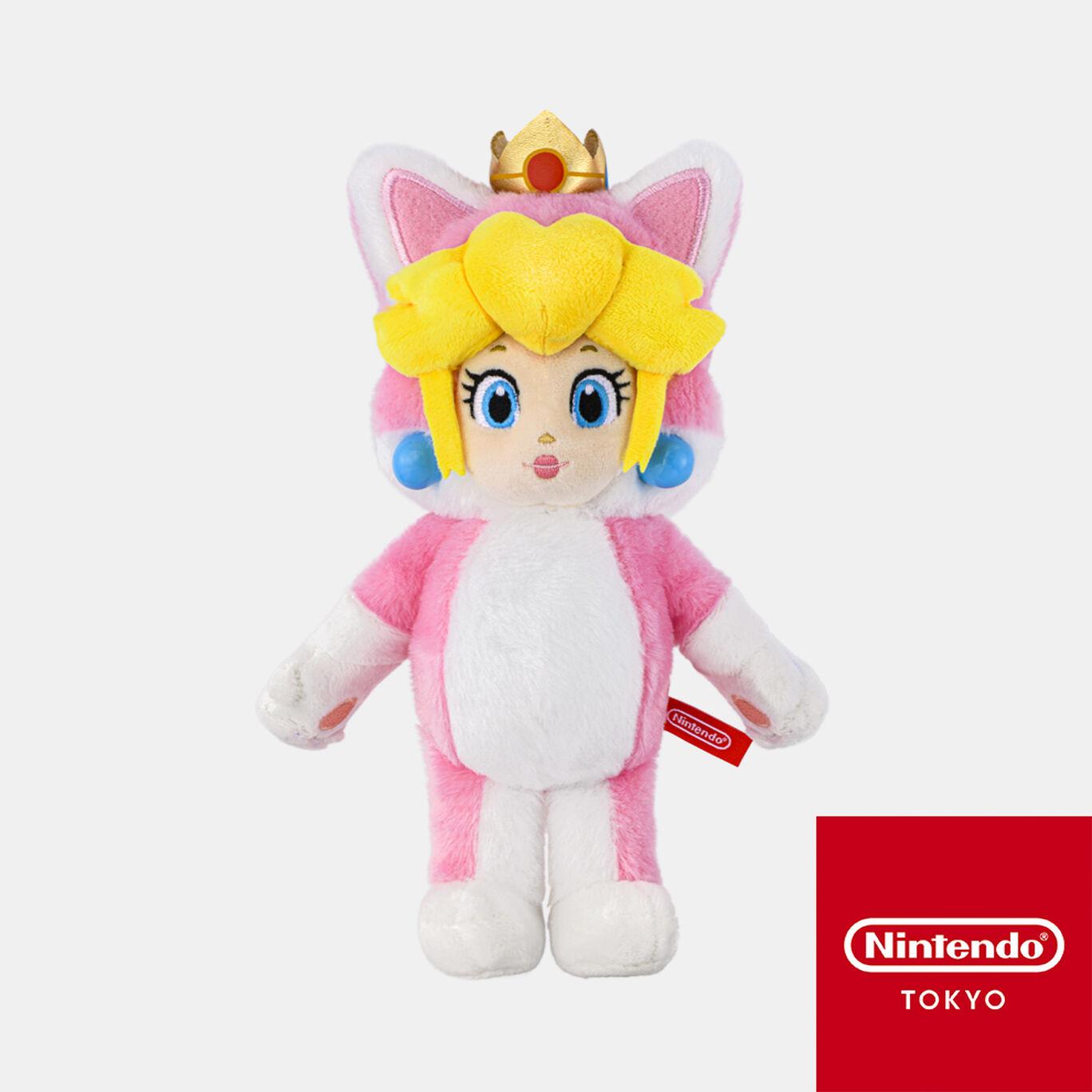 【新商品】マスコット スーパーマリオ ネコピーチ【Nintendo TOKYO取り扱い商品】
