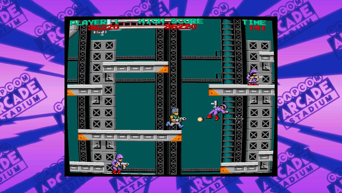 Capcom Arcade Stadium:BIONIC COMMANDO