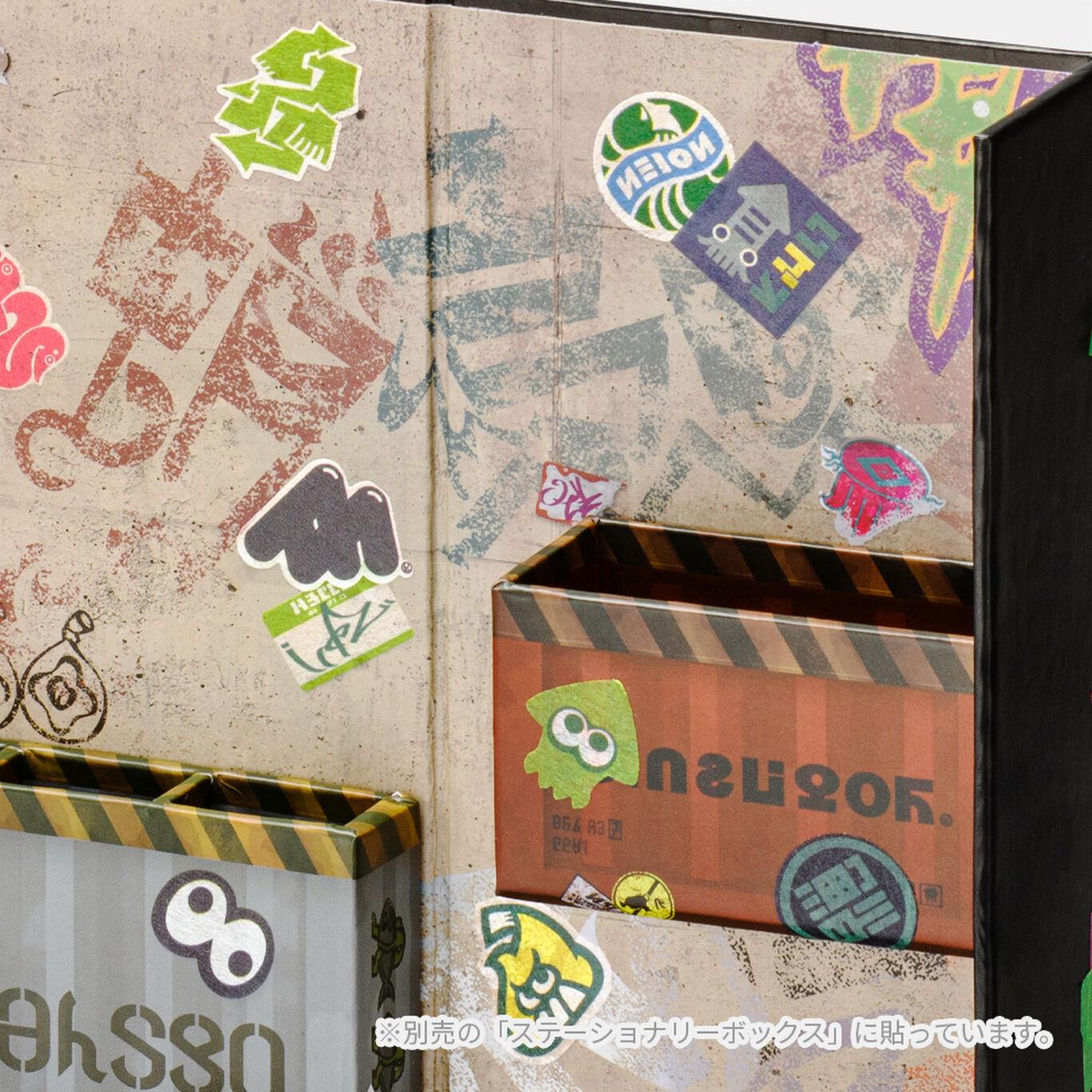 【新商品】ロールフレークシール&マスキングテープ イカ SQUID or OCTO Splatoon【Nintendo TOKYO取り扱い商品】