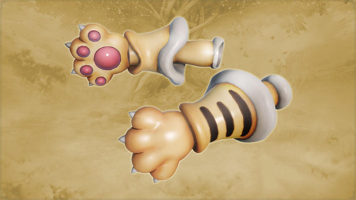 武器「ネコの手」