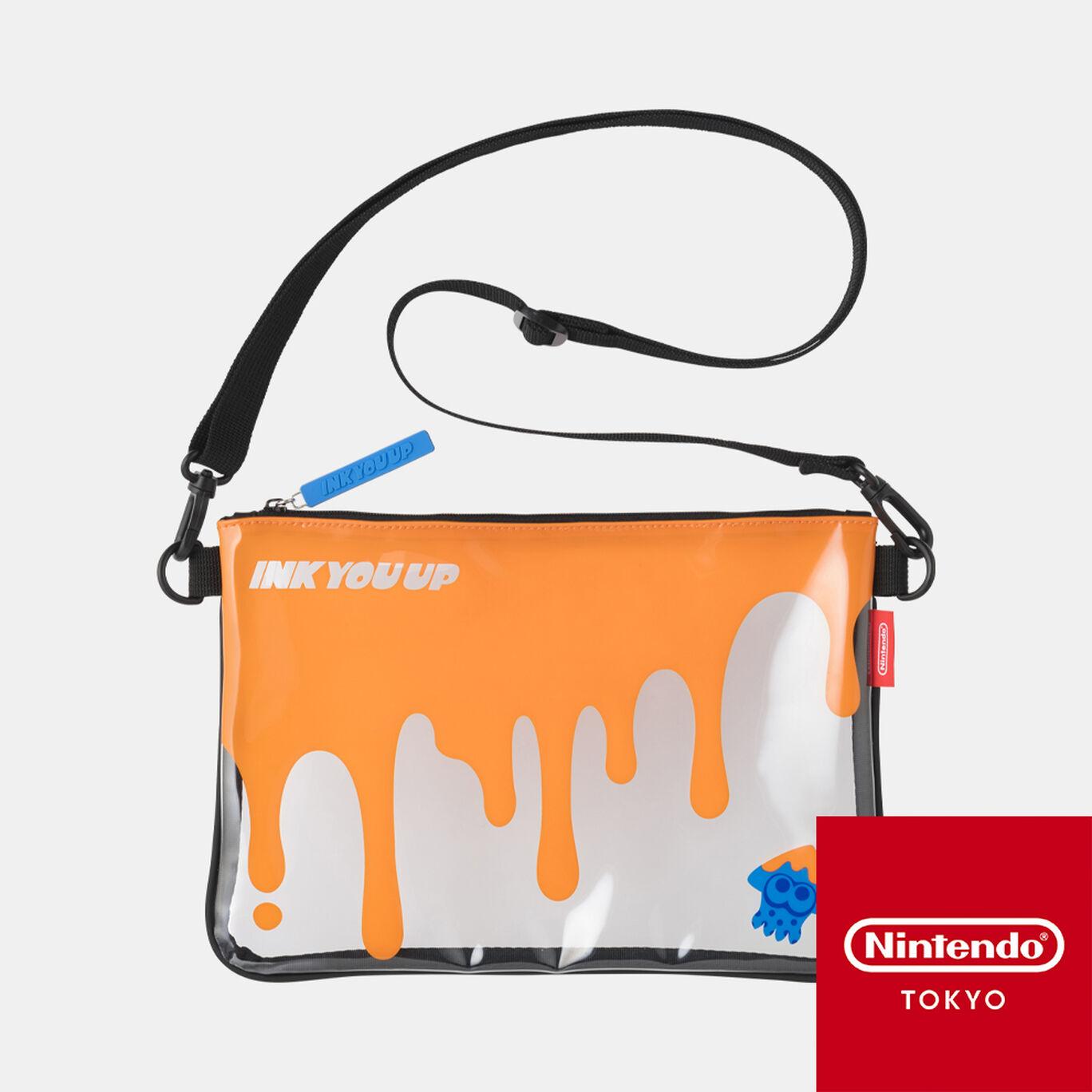 クリアサコッシュ INK YOU UP【Nintendo TOKYO取り扱い商品】