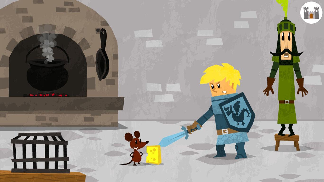 キッズプレイ お城での冒険