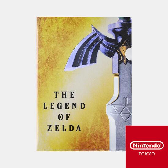 クリアファイル ゼルダの伝説 B【Nintendo TOKYO取り扱い商品】