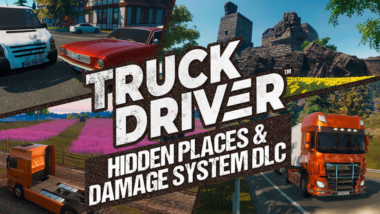 Truck Driver - Hidden Places & Damage System DLC
