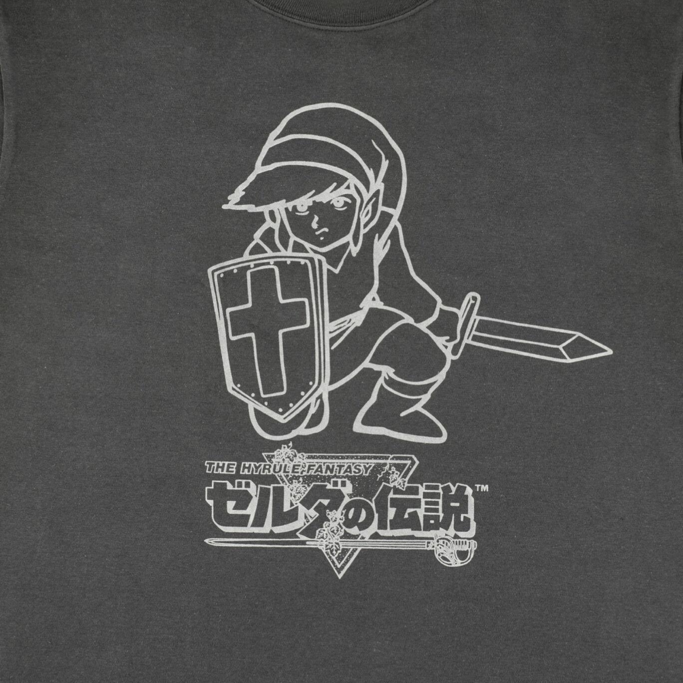 【新商品】ロンT ゼルダの伝説 S【Nintendo TOKYO取り扱い商品】