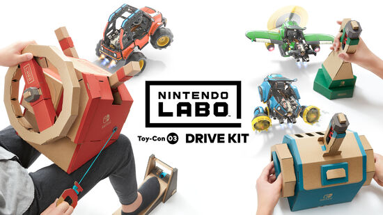 Nintendo Labo Toy-Con 03: Drive Kit(ドライブ キット)