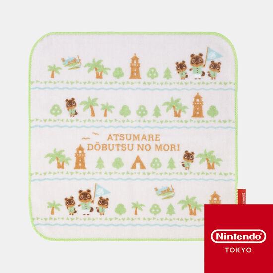 ハンドタオルA あつまれ どうぶつの森【Nintendo TOKYO取り扱い商品】