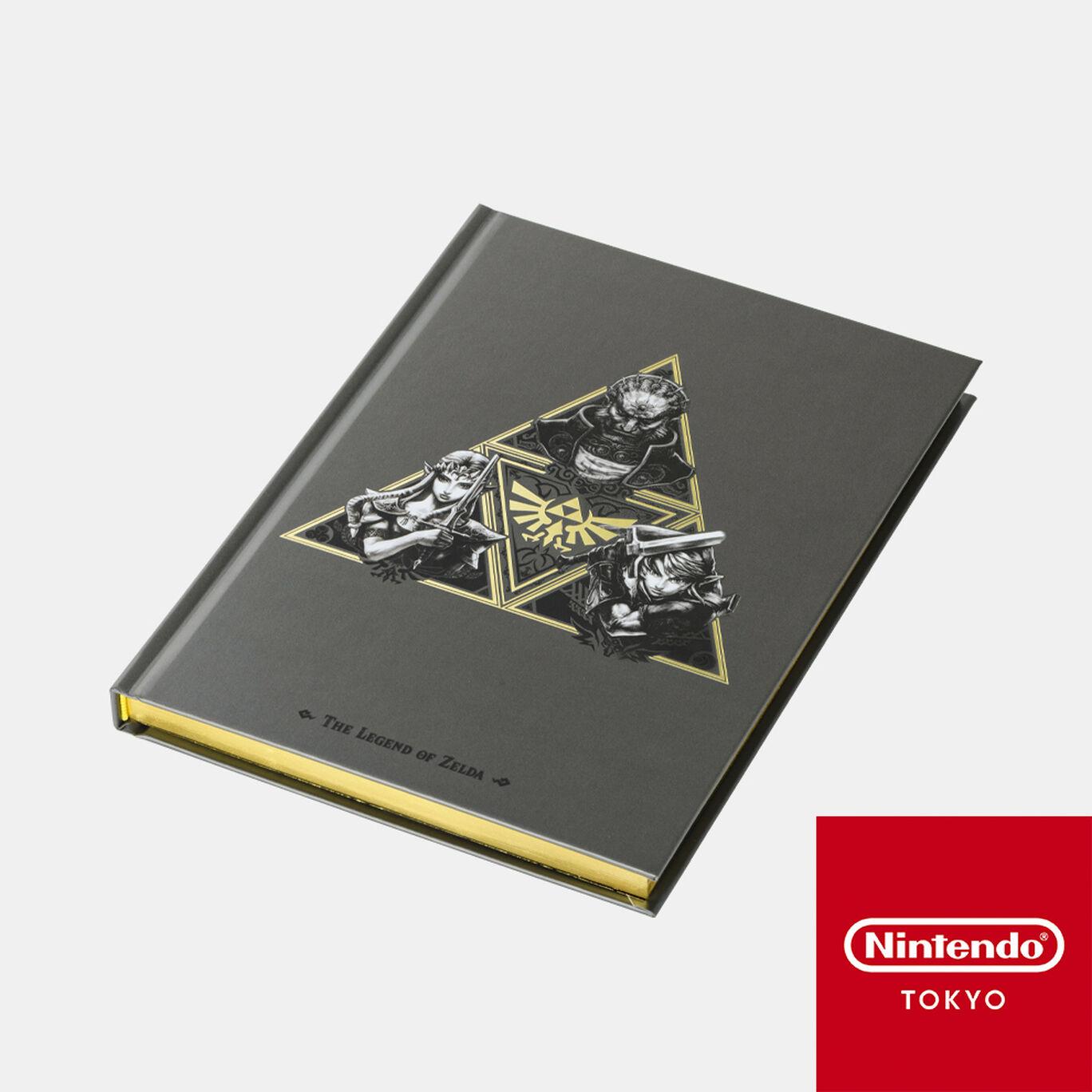 A5ハードカバーノート トライフォース ゼルダの伝説【Nintendo TOKYO取り扱い商品】