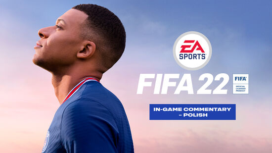 「FIFA 22」ゲーム内実況解説 – ポーランド語