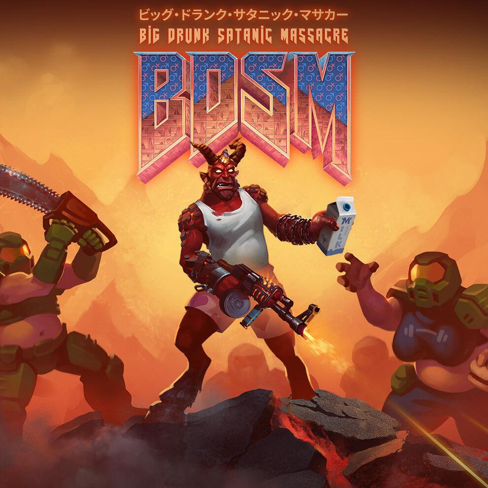 BDSM:ビッグ・ドランク・サタニック・マサカー