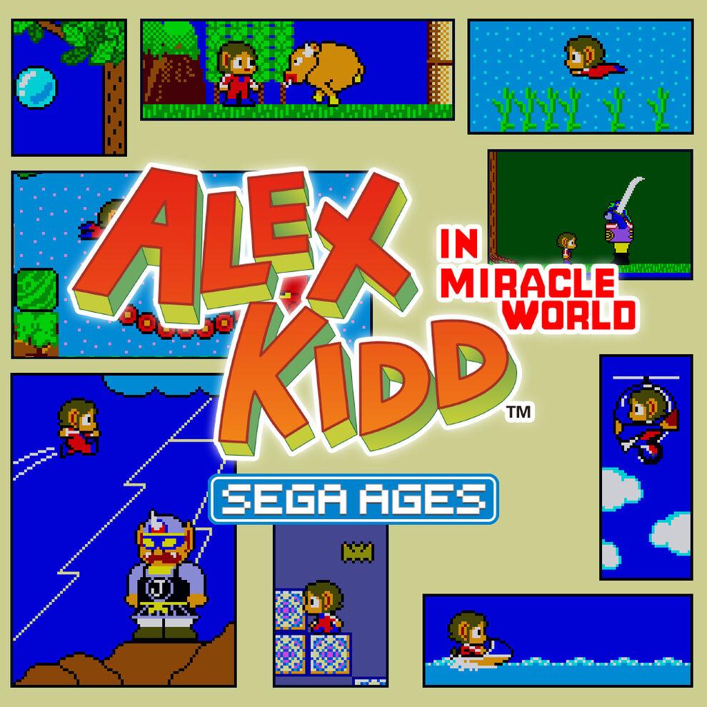 SEGA AGES アレックスキッドのミラクルワールド