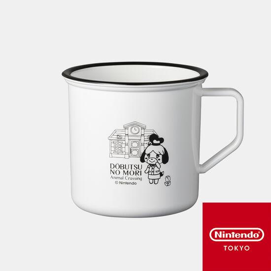 ホーロー風マグカップ どうぶつの森 A【Nintendo TOKYO取り扱い商品】