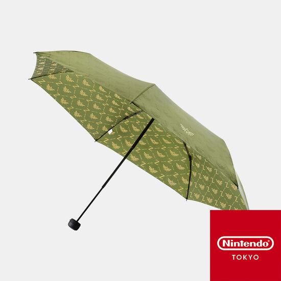 折りたたみ傘 グリーン ゼルダの伝説【Nintendo TOKYO取り扱い商品】