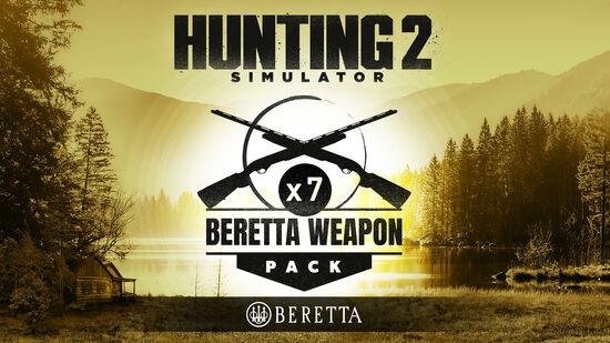 Hunting Simulator 2 Beretta Weapon Pack