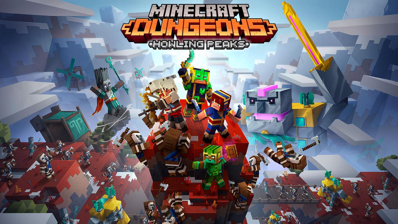 Minecraft Dungeons: Howling Peaks (ハウリング ピークス)