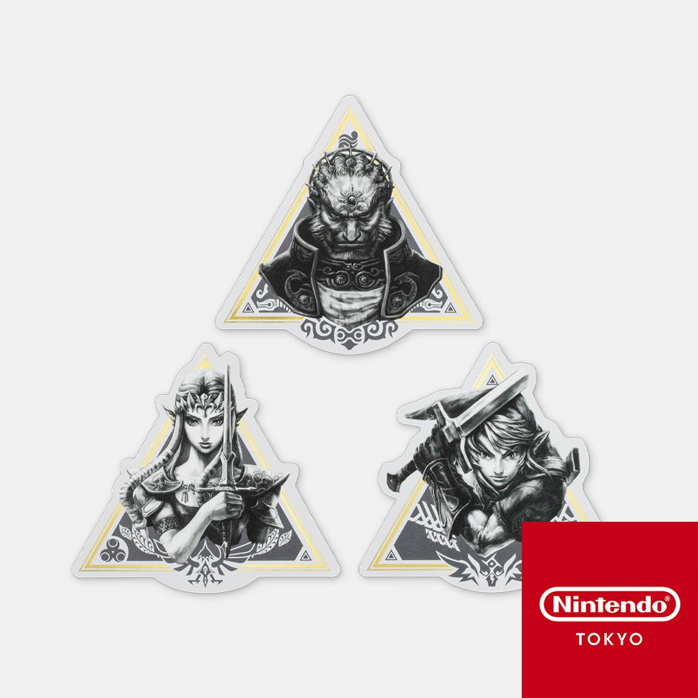 【新商品】ステッカーセット トライフォース ゼルダの伝説【Nintendo TOKYO取り扱い商品】