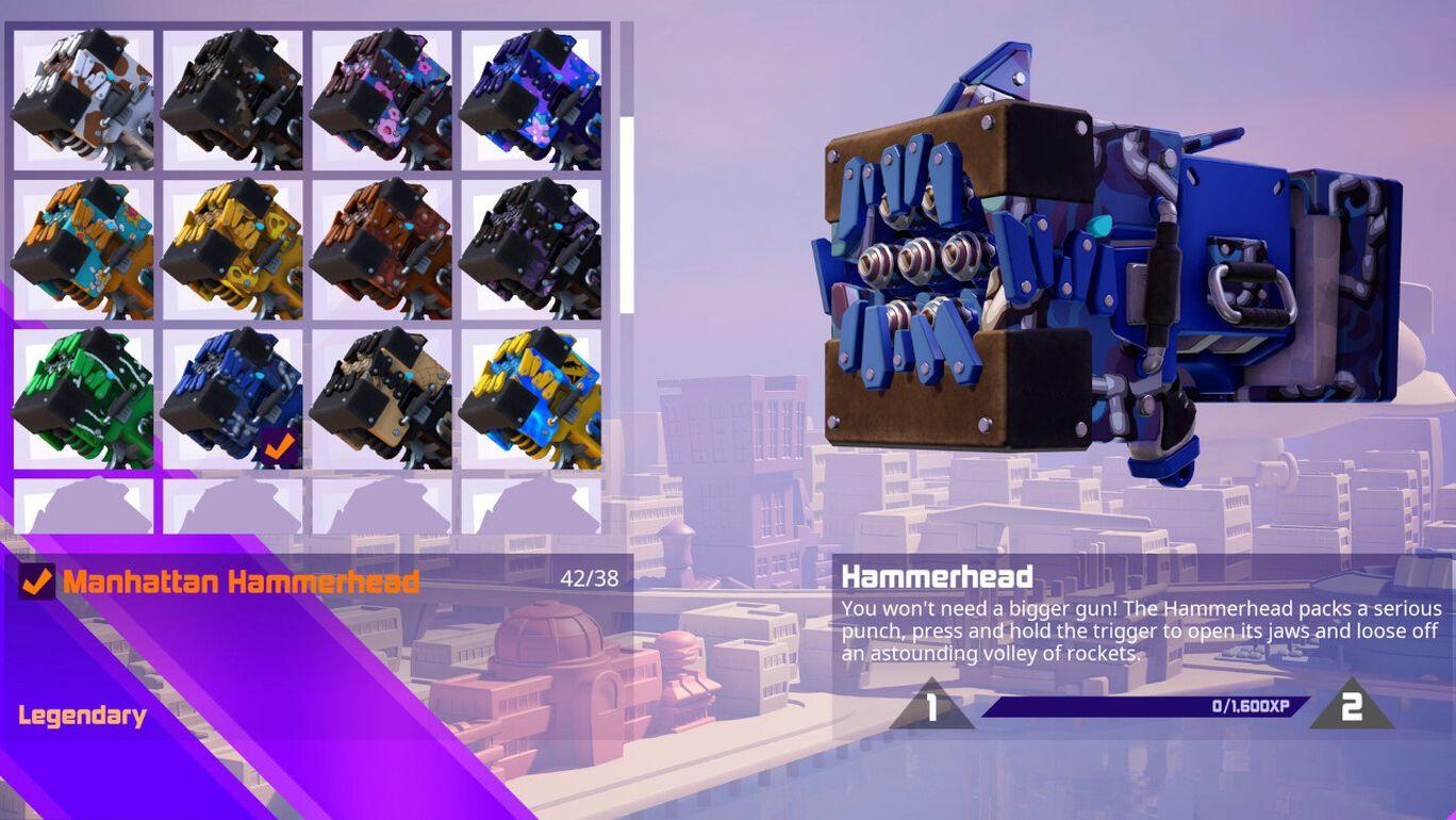 追加コンテンツ「アルマゲドン武器スキンパック」