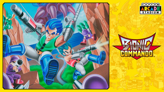 Capcom Arcade Stadium:BIONIC COMMANDO