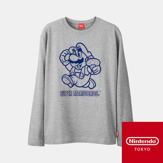 ロンT スーパーマリオブラザーズ 【Nintendo TOKYO取り扱い商品】