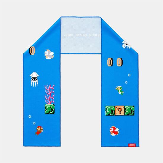 スーパーマリオ トラベル クールタオル(水中コース)