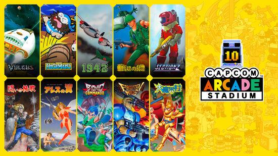 Capcom Arcade Stadium Pack 1:すべてはここからはじまった!