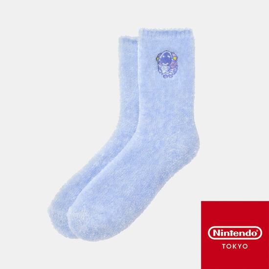 【新商品】ルームソックス ブルー どうぶつの森【Nintendo TOKYO取り扱い商品】