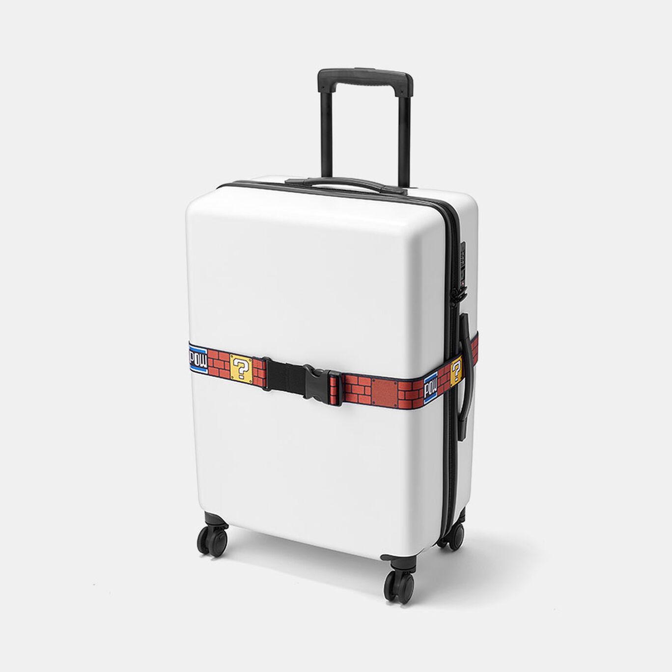 スーツケースベルト スーパーマリオ(ブロック)