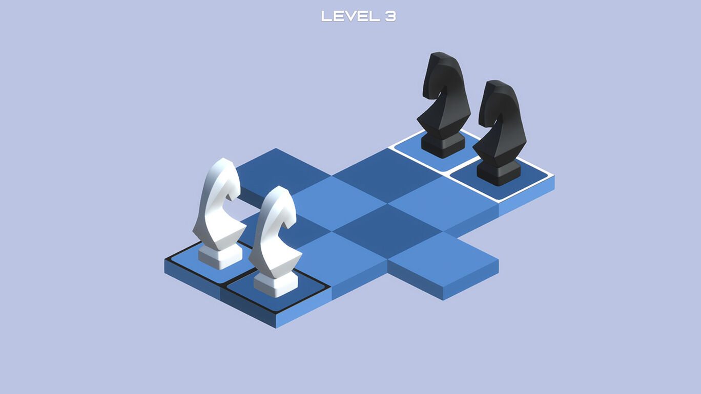 チェスパズル Knight Swap 2