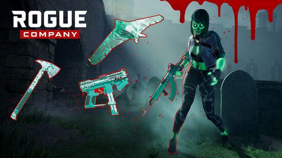 Rogue Company: 放射能の亡霊パック