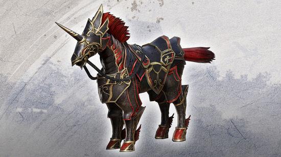 追加軍馬「鉄纏」