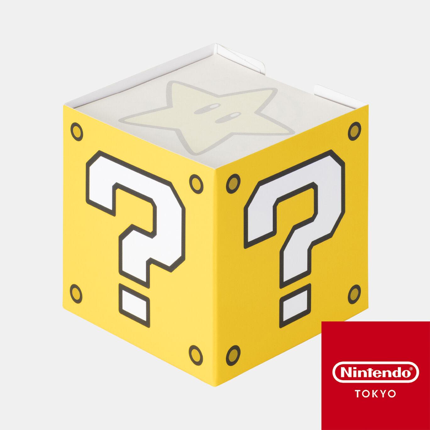 メモパッド スーパーマリオ ハテナブロック【Nintendo TOKYO取り扱い商品】