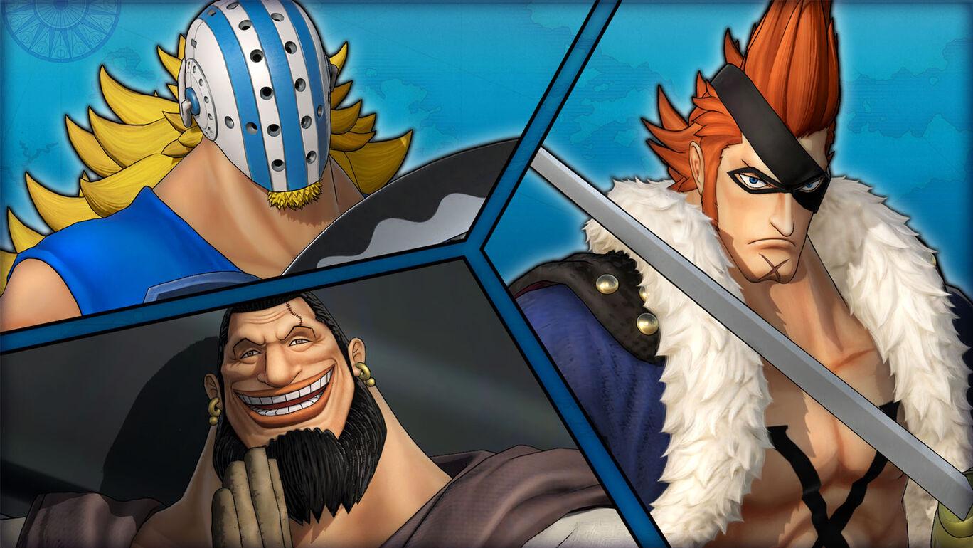 ONE PIECE 海賊無双4 キャラクターパック第2弾:最悪の世代パック