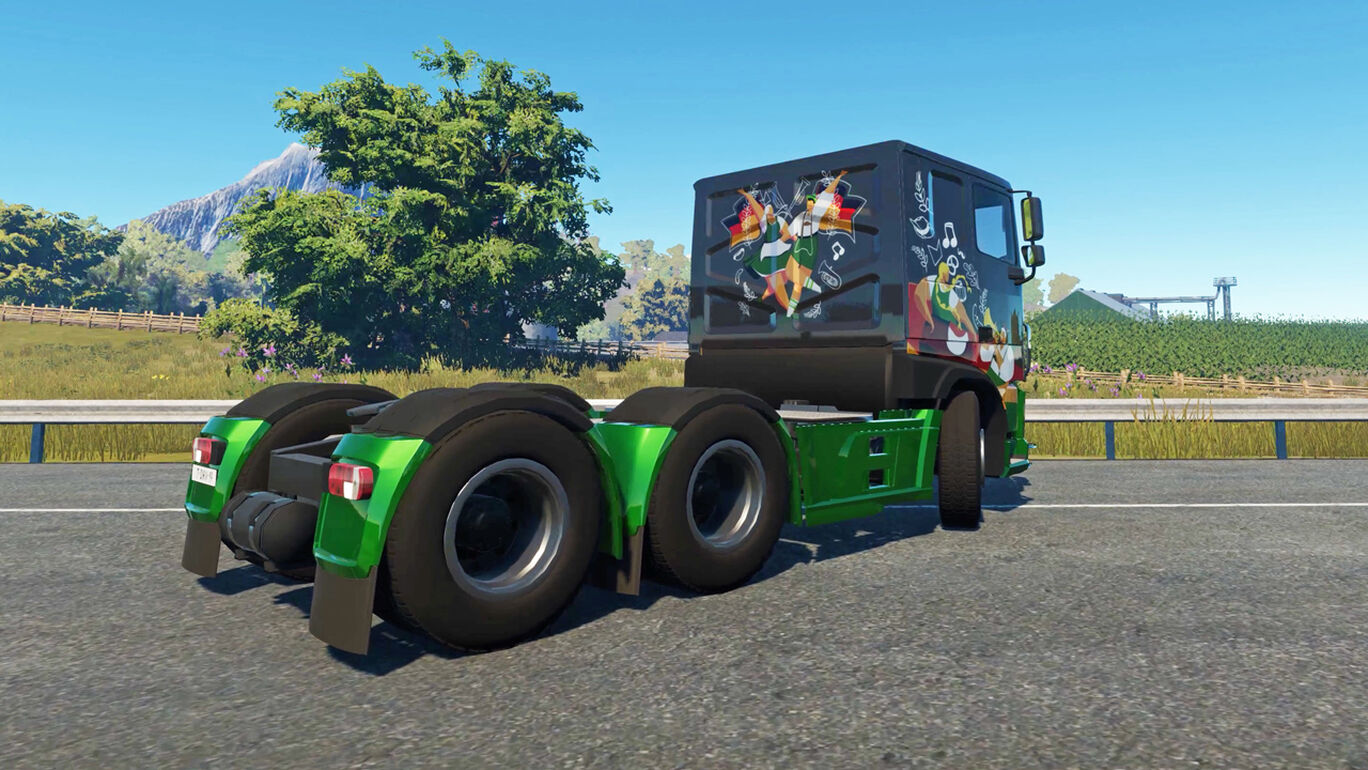 Truck Driver - German Paint Jobs DLC