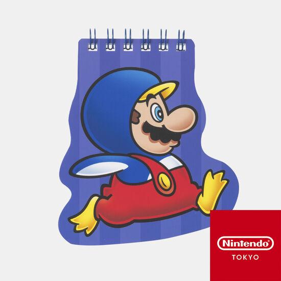 ダイカットメモ帳 スーパーマリオ パワーアップ D【Nintendo TOKYO取り扱い商品】
